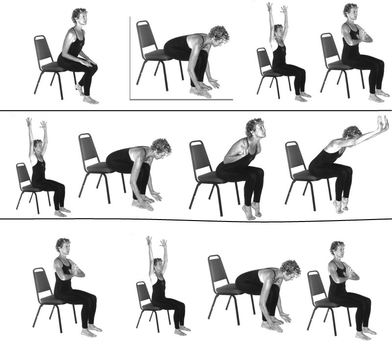 Simple Desk Yoga Poses That Won T Freak Out Your Coworkers